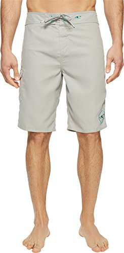 O'Neill Men's Santa Cruz Solid 2.0 Boardshorts Light Grey Swimsuit (Detail Shorts Bottoms)