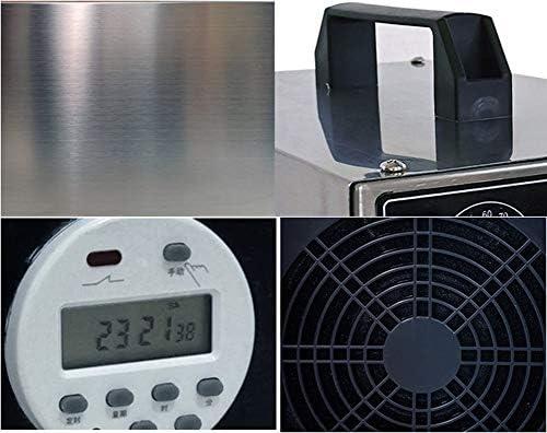 Starry sky Purificador De Generador De Ozono,Esterilizador De Purificador De Aire De 20g/h Utilizado En La Esterilización y Desinfección del Almacén De La Fábrica De Alimentos De Cría: Amazon.es: Deportes y aire