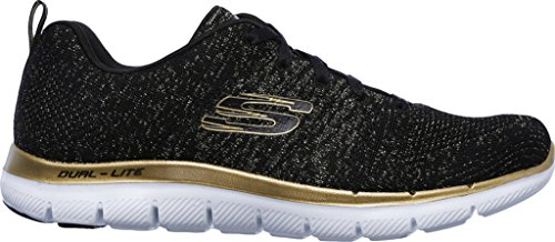 Basket 12771bkgd 2 Skechers 0 Fletto Appello wgqxSXTz
