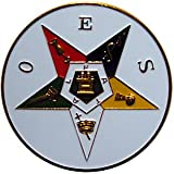 "Eastern Star 3"" Auto Car Emblem by The Masonic Exchange"