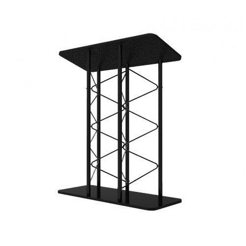 FixtureDisplays Metal Truss Podium Double Width Modern Design 13137 13137