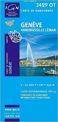 Lire un Geneve / Annemasse / Le Leman GPS: Ign.3429ot epub pdf