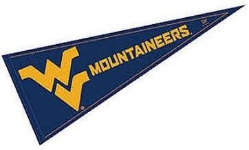 WVU Mountaineers 12x30 Felt Pennant