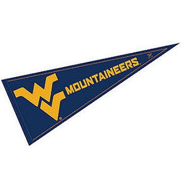 WVU Mountaineers Pennant and 12