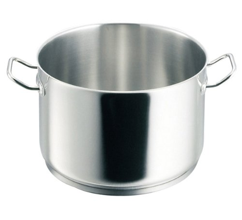 De Buyer 3444.28 Appety Stewpan with 2 Stainless Steel Handles, without Lid, 28 cm Diameter