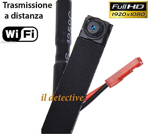 Telecamera spia wifi wireless microcamera spy cam full hd 1080P
