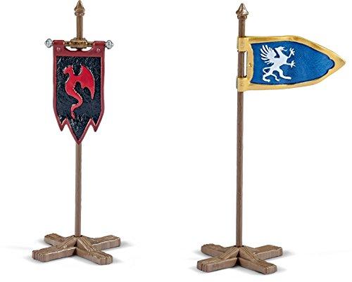 Schleich Flag Set for Knights -