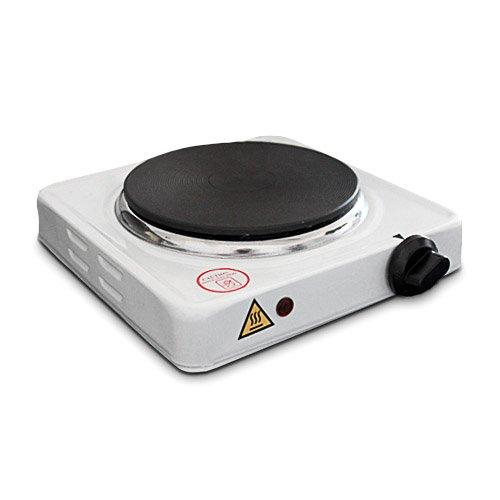 Fornello elettrico 1 piastra potenza: 1000 watt campeggio: amazon ...