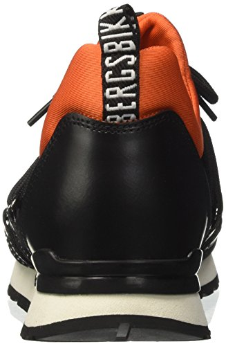 996 black Mocassins Bikkembergs orange Kate 940 Noir Femme p5qRATxF