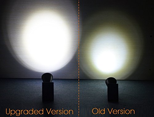 InnoGear Upgraded Solar Lights 2-in-1 Waterproof Outdoor Landscape Lighting Spotlight Wall Light Auto On/Off for Yard Garden Driveway Pathway Pool,Pack of 6 (White Light) by InnoGear (Image #7)