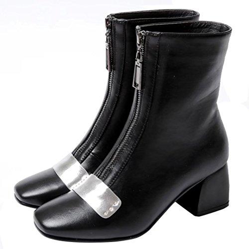 Classic AIYOUMEI Black Women's Women's Boot AIYOUMEI tvqfnwnO