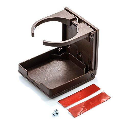 Camco 44043 Adjustable Drink Holder (Brown)
