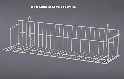 New Retails Grey Strong Welded Design Grid Standard Shelf 24'' Wide by Standard Shelf