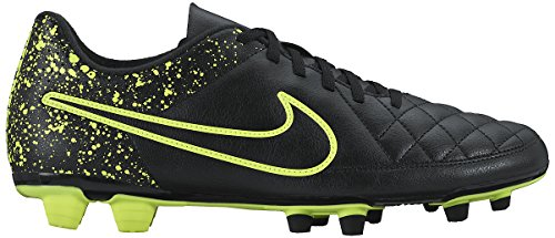 Nike Mens Tiempo Rio II FG Firm Ground Soccer Cleats 11 US, Black