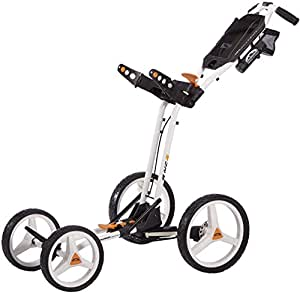 Sun Mountain MC3 Golf Micro-Cart - White/Orange