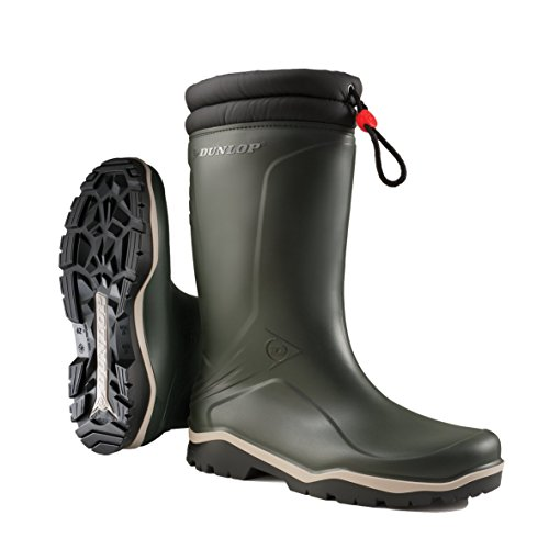 Dunlop Blizzard Boot, without steel toe Green