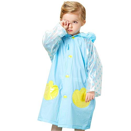 pieghevole pieghevole pieghevole impermeabile K Blu borsa borsa borsa di C L M della P Taglia Poncho Outdoor Impermeabile posizione Giallo S raincoat Travel per XING Blu Abbigliamento ZI di con la emergenza scuola bambini qa1AnR7txw