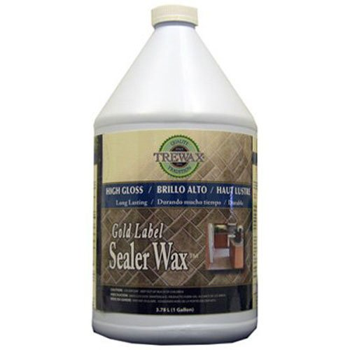 Wax Vinyl Floor - Trewax Professional Gold Label Sealer Wax