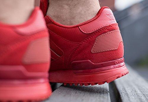 Rojo 700 Rojo Calzado ZX Hombre Deportivo Adidas wP0qT0