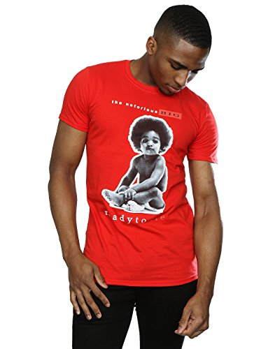 Notorious BIG Men's Ready to Die T-Shirt XX-Large Red
