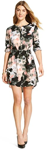 Merona Women's A line Dress (X-Small, Drizzle Gray) from Masked Brand