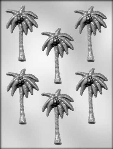 CK Products 3-1/2-Inch Palm Tree Chocolate Mold - Tree Chocolate Mold
