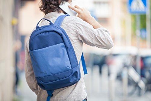 Tucano Svago Backpack für Notebook bis 39,6 cm (15,6 Zoll) blau