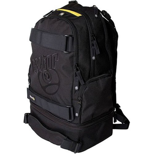 (Sector 9 Pursuit Backpack, 21.0 x 14.0 x 9.0-Inch, Black)