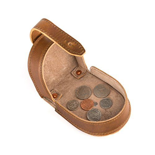 Saddleback Leather Co. Clasp Coin Purse for