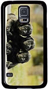 Love Heart Labrador Retrievers Samsung Galaxy S5 SV Case - Fits Samsung Galaxy S5 SV