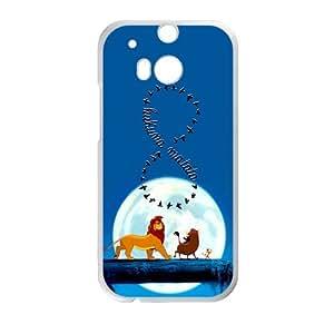 Lion King Forest Cartoon White HTC M8 case