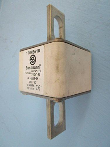 Bussmann 170M5618 1250A 660V~IEC 700V~RU 2FU/90 Denmark 961018 Fuse 1250 Amp A by Bussmann