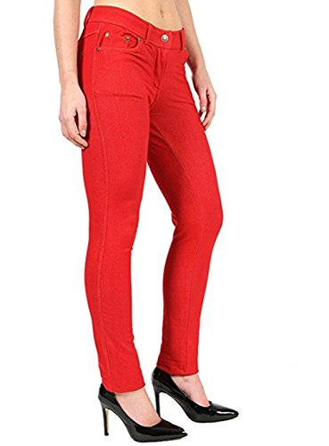 Donna Jeggings Red Jeggings Donna Jeggings Jeans Jeans Missmister Red Donna Missmister Missmister Red Jeans SwTfFF