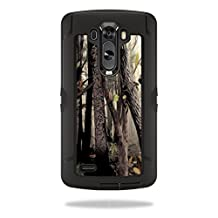 Mightyskins Protective Vinyl Skin Decal Cover for OtterBox Defender LG G3 Case cover wrap sticker skins Tree Camo