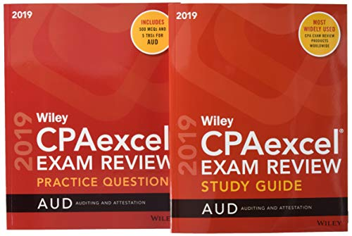 Wiley CPAexcel Exam Review 2019 Study Guide + Question Pack: Auditing