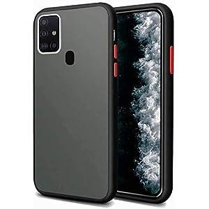 Navnika Mobile Smoke Back Case Cover for OnePlus Nord N10 5G, Ultra Hybrid Rubberized Matte Hard Back Case Smoke Cover…