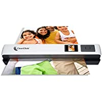 ClearClick Photo & Document Scanner with 1.45 Preview LCD, 4 GB Memory Card, OCR Software