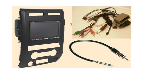 Amazon.com: Radio Stereo Install Dash Kit (single and double din) + Steering  control wiring + canbus wire harness + antenna adapter for Ford F Series  XLT - Platnium Pickup without Navigation F150 ( | Ford Steering Wiring |  | Amazon.com