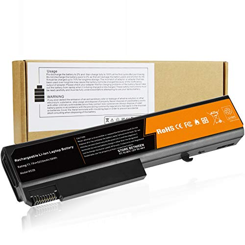 Laptop Battery Compatible HP EliteBook 8440P 6930P 8440W ProBook 6440B 6455B 6540B 6545B 6550B Compaq 6730B 6735B 6530B, fits P/N 482962-001 HSTNN-UB69 KU531AA - High Extended Performance (Elitebook 8440p Battery)