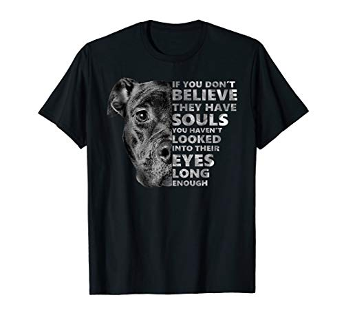 Soul Pitbull I Love Pitbull T-Shirt Dog Lover Gift