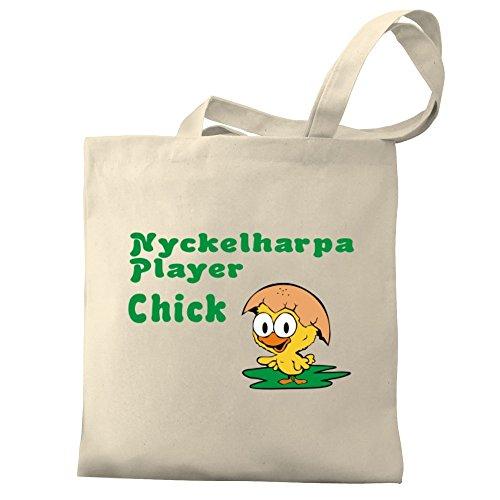 Eddany Nyckelharpa Player chick Bereich für Taschen