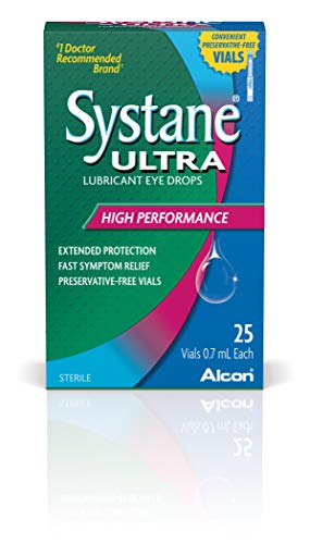(Systane Ultra Lubricant Eye Drops, 25 Vials, 0.7-mL Each)