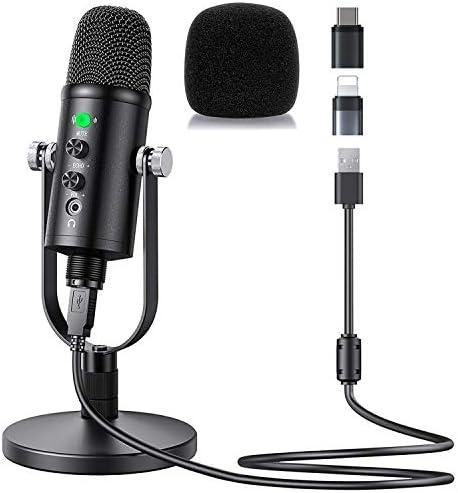 Aveek Micrófono USB para grabación y