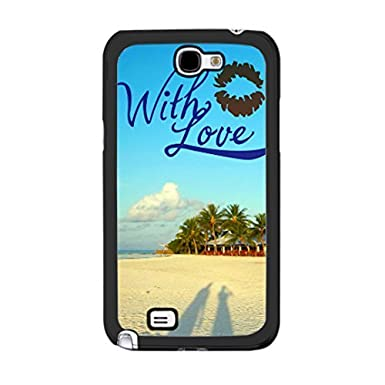 Monogram Love Couple Summer Beach Nature Design Samsung Galaxy Note