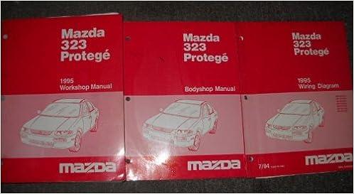 1995 Mazda 323 Protege Service Shop Repair Manual Set Service Manual Wiring Diagrams Manual And The Body Shop Manual Mazda Amazon Com Books