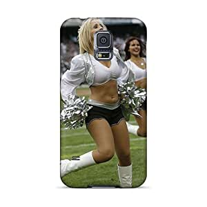 New Arrival IuZev16474mTwIc Premium Galaxy S5 Case(oakland Raiders Cheerleaders Anjelah Johnson)