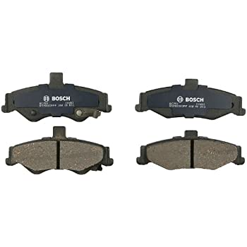 Rear Chevrolet Express 2500 GMC Savana 2500 Brake Pad Set Bosch QuietCast BC974