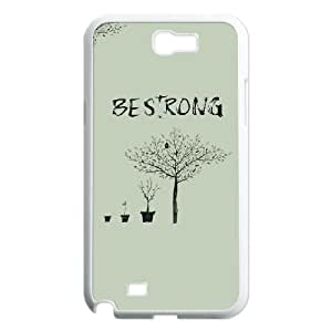 DIY Be Strong Phone Case Fit To Samsung Galaxy Note 2 N7100 , Good Choice For Your Phone