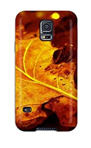 2119975K89797514 Case Cover Galaxy S5 Protective Case Leaf