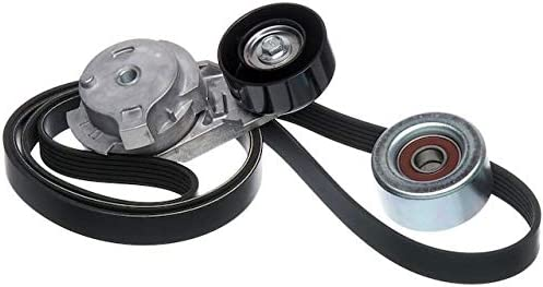 Serpentine Belt Drive Component Kit Compatible with 2004-2012 Chevy Colorado
